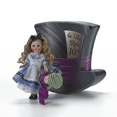 Alice's Mad Adventure  in Decorative Box  8'' Madame Alexander Doll, New #MadameAlexander