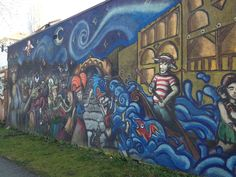 Commercial Drive, Vancouver Brewery, Vancouver, Seattle, Graffiti, Street Art, Hawaii, Pride, Commercial, Community