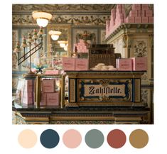 Tumblr Site - Wes Anderson Palletes