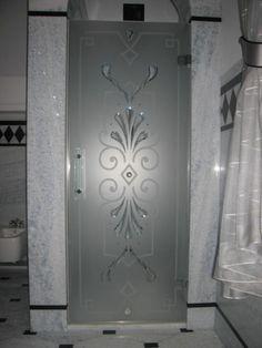 DUBIEL GLASS Kraków – kabiny prysznicowe | realizacje www.dubielglass.pl Forest House, Glass Doors, Bath Room, Glass Design, Cnc, Armoire, Windows, Furniture, Home Decor