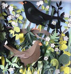Paper art by Helen Musslewhite.