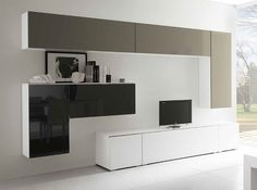 Modus 70 Ultra Modern Wall Unit by Presotto 18482 furniture