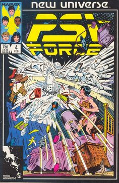 Psi Force #4