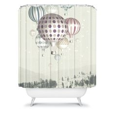 Yea. I'm a fan of this. Shower curtain...