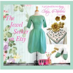 Be classy and fabulous wearing #Vintage #Jewelry from The JewelSeeker on Etsy!  Search #TeamLove for your other #fashion needs!