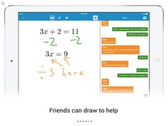 Math Chat - Solve Problems Together in Real Time