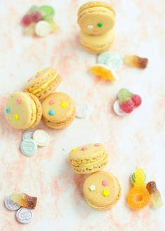 Candy macarons