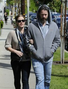 Amy Adams 'Her' actress Amy Adams and her partner Darren Le Gallo walk arm in arm after having lunch at Gracias Madre in West Hollywood, Cal...