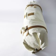 CULT OF ONE duffel bag with leather locking band
