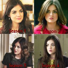 Pretty Aria. Is just me or does she get prettier and younger looking in each season?<<<No, it's not just you, it's true.