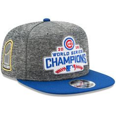 d39b7b202119b Chicago Cubs 2016 World Series Champions Youth 9FIFTY 2-Tone Snapback  Adjustable Hat  ChicagoCubs