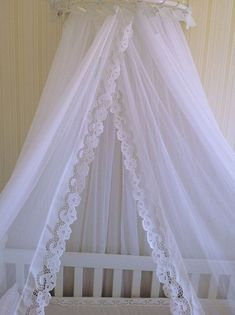Baby Bedroom, Baby Room Decor, Bed Curtains, Canopy, House Ideas, Base, Bed With Curtains, Curtains For Bedroom, Cribs For Babies