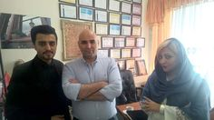 جلسه امروز با علی مسعودی عزیز برای شروع یک همکاری عالی