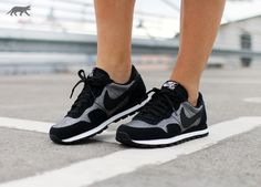 promo code b0edf 3f09e Nike Wmns Air Pegasus 83 PRM (Metallic Hematite   Black - Black - Metallic  Luster)