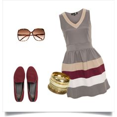 Going out, created by laetitiama on Polyvore...minus that bracelet. I love this.