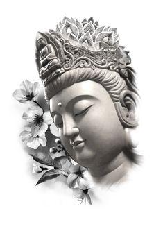 Buddha Painting, Buddha Art, Mago Tattoo, Buda Tattoo, Buddha Tattoo Design, Simple Tattoos For Guys, God Tattoos, Buddha Sculpture, Religious Tattoos