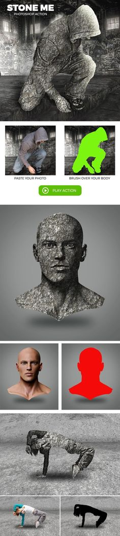 Stone Me - Photoshop Action - Photo Effects Actions