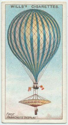 First parachute display