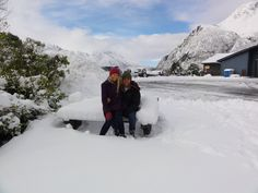 My husband Cody and I lived in New Zealand last year.