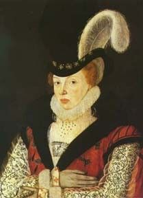 Elizabeth Tilney; She served as a lady-in-waiting to Queen consort Elizabeth Woodville, and later as Lady of the Bedchamber to the Queen's daughter, Elizabeth of York, consort of King Henry VII of England. She stood as joint godmother to Princess Margaret Tudor at her baptism.