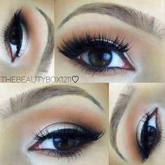 Glam Smokey Eye