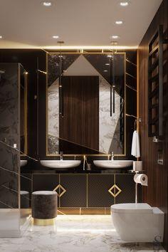 Проект  Studia-54. Ванная комната.