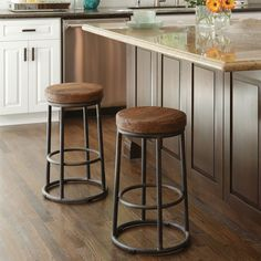 The Jaden Stool, available in both bar and counter heights, will compliment your eco-friendly home and lifestyle. Crafted from reclaimed pine and iron, the Jaden adds the latest touch to a timeless design. Counter Stool - x x Bar Stool - x x Used Bar Stools, Cool Bar Stools, Coffee Chairs, Bar Chairs, Stools For Kitchen Island, Counter Stools, Cafe Counter, Easy Home Decor, Home Decor Kitchen