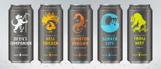 These Playful Brews Come With a Variety of Characters and Quests — The Dieline | Packaging & Branding Design & Innovation News