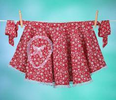 Vintage inspired hostess apron