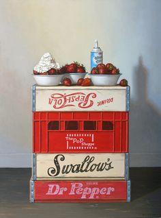 "Gallery Henoch - Robert C. Jackson, Whipped Cream Lover, 40"" x 30"""