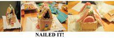 These graham cracker gingerbread houses won't be having any visitors. #pinterestfail