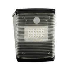 Black 600 Square Foot LED Solar Light with Motion Detector