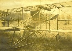 Horace Kearny ~  ~circa 1912  Kearny delivered the first airmail to San Francisco by landing on VanNess St., 1905