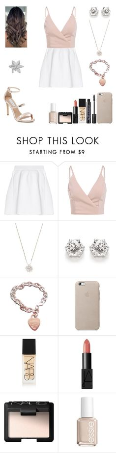 """New Chapter- Graduation"" by spacestars ❤ liked on Polyvore featuring malo, Jyoti, Tiffany & Co., NARS Cosmetics, Essie, Steve Madden and Graduation"