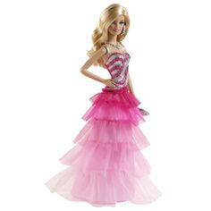 Barbie Кукла Barbie Мода в розовых тонах в пышном платье модель КУКЛА МОДА В РОЗОВЫХ ТОНАХ В ПЫШНОМ ПЛАТЬЕ