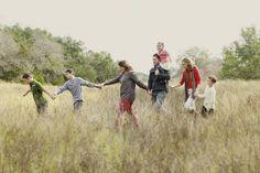 Easy family posing idea