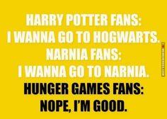 Harry Potter vs. Narnia vs. Hunger Games fans #thg #hp - http://memeheroes.com/fa15a-harry-potter-vs-narnia-vs-hunger-games-fans-thg-hp/