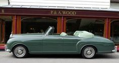 1961 Rolls-Royce Four-door Convertible by H.J. Mulliner (chassis LLCB16, body 6365, design 7484), one unit produced