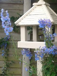 Lovely memory of bird house made by Dad x