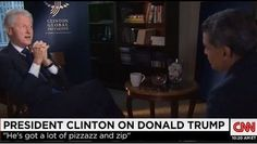 Video: Bill Clinton Interview on CNN Fareed Zakaria GPS on Donald Trump, Hillary Clinton Emails