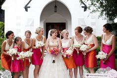 #Red #Bridesmaids … 'Wedding Guide' App ♥ Free for a limited time … https://itunes.apple.com/us/app/the-gold-wedding-planner/id498112599?ls=1=8 ♥ For more magical wedding ideas http://pinterest.com/groomsandbrides/boards/ ♥