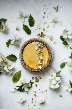 ... raw miso lemon Tarts ...