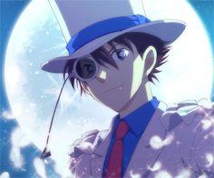 Detective Conan Case Closed Magic Kaito Kid 1412 The Phantom Thief Kuroba Kaito Full Moon Night Light
