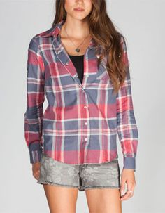 FULL TILT Plaid Womens Shirts Tilly's $26.99                                                                                                                                                                                                                                                                                                                                                                                                                                                   $26.99