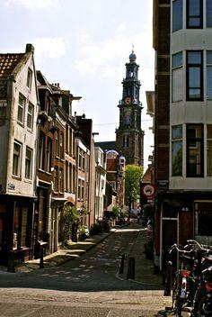 Streetview Amsterdam - Westertoren By: Lisette Eppink