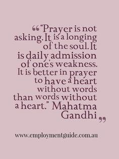 Mahatma Gandhi quote.