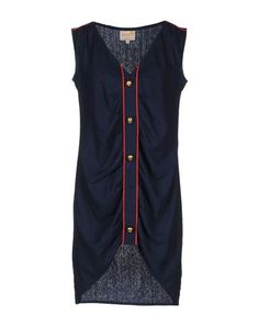 Dolores Promesas Earth navy/red dress Yoox