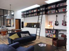 Rock The Loft by Nido Architecture / Paris