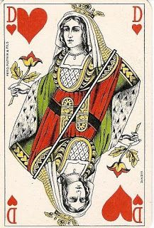 Mysteries of the Juniper: Vintage Playing Cards * 1500 free paper dolls at Arielle Gabriel's The International Paper Doll Society for paper doll pals at Pinterest, thanks to all of you..! *