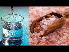 Drinking - 1 teaspoon of himalayan salt to 1 cup of water ounces) first thing in the morning on an empty stomach has many miraculous health bene. Himalayan Salt Benefits, Starting Keto, Anti Inflammatory Recipes, Salt And Water, Health Tips, Health Care, Natural Healing, A Food, Make It Yourself